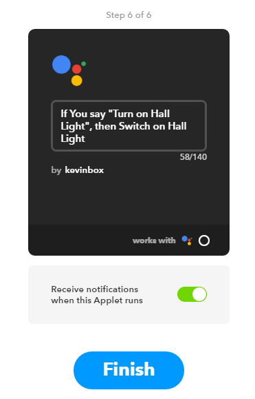 IFTTT and SmartThings connection